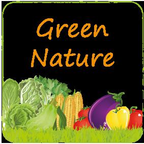 GREEN NATURE BUTTON